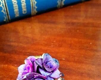 SALE Poison Rose Pendant