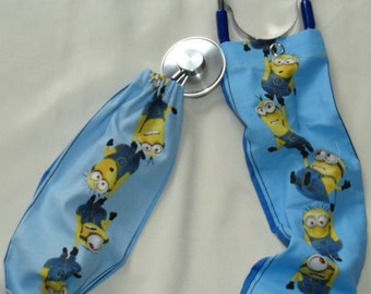 Hanging Minions Stethoscope Cover/Scope Coat