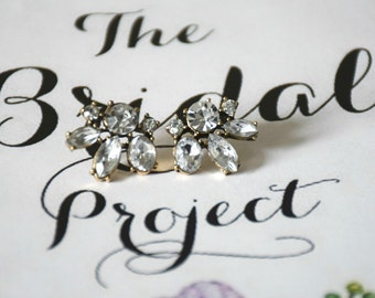 Bridal Earrings, Bridal Stud Earrings, Statement Earrings, Prom Earrings, Accessories