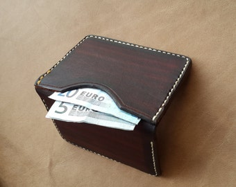 Micro Minimalist Wallet, Card Wallet, Leather Card Wallet, Leather Card Holder, Leather Credit Card Holder Case
