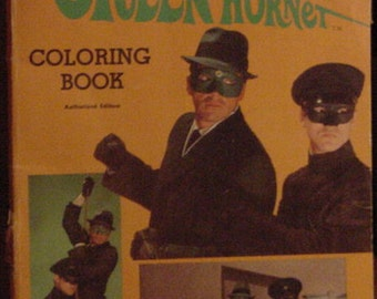 Green Hornet coloring book