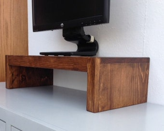 tv riser. tv riser stand solid pine with coffee finish tv s