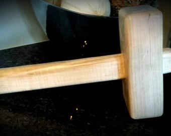 Woodworkers Maple handmade mallet