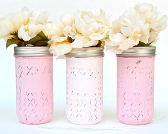 Quilted jelly jars   Etsy : quilted mason jars bulk - Adamdwight.com
