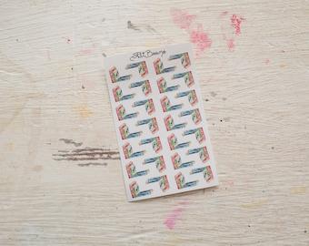 Books Planner Stickers