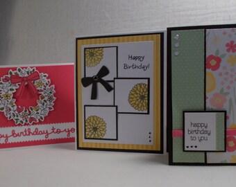 A Dozen Floral Cards
