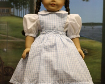 Handmade Dorothy Outfit 18 Inch Doll Clothes
