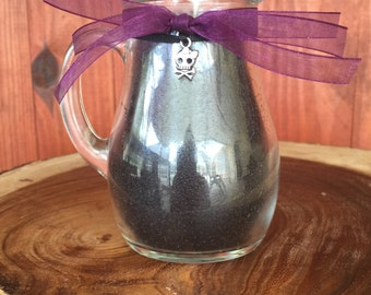 BLACK BAMBOO pitcher candle Heavily scented