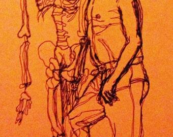Life Drawing Print