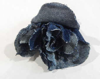 Denim Rose clip