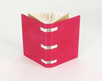 Ovenbird Bindery laced-in blank book