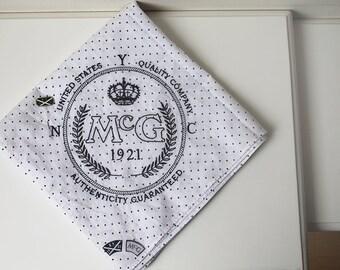 Scarf, Cotton Wrap Shawl, MCG McGregor United States, American Brand