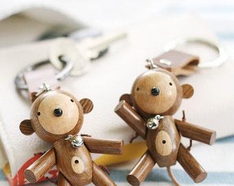 Ponty Dolls : 2 Monkeys Couple Keychains, code MM 01