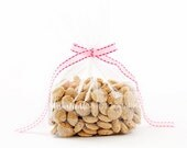 Bag of Cookie Cereal Styled Photo, Styled Stock Photography, Party Styled Mockup, Cereal Styled Photo, Pink Ribbon, Cereal Bag Display - 31