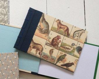NOTEBOOK ANIMALS bookbinding
