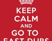Keep Calm and Go to East Dubuque Red T-shirt