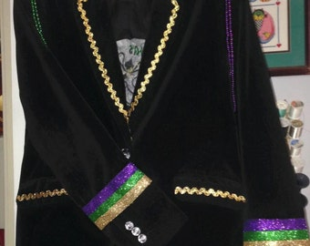 Mardi Gras Women's Blazer