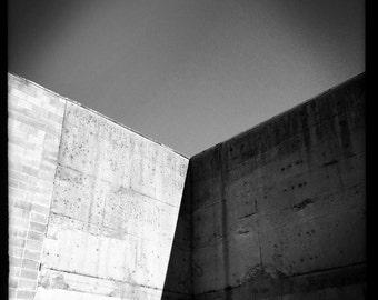 Concrete Corner - BW Print