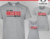 Teacher Shirts: Recess De...