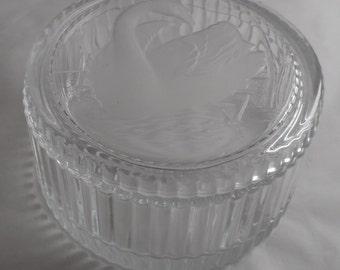 Box glass Swan