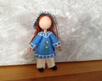 Little Sister Felipa - Pocket Doll - Bendy Doll