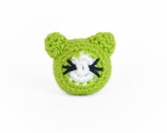 Catnip Cat Toy Ball, Catnip Stuffed Cat Ball, Handmade Crochet Cat Ball, Kitty Ball Toy, Crochet Catnip Cat Toy, Catnip Cat Ball