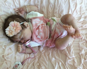 Miracle doll kit by Laura Lee Eagles with Quinlynn limbs