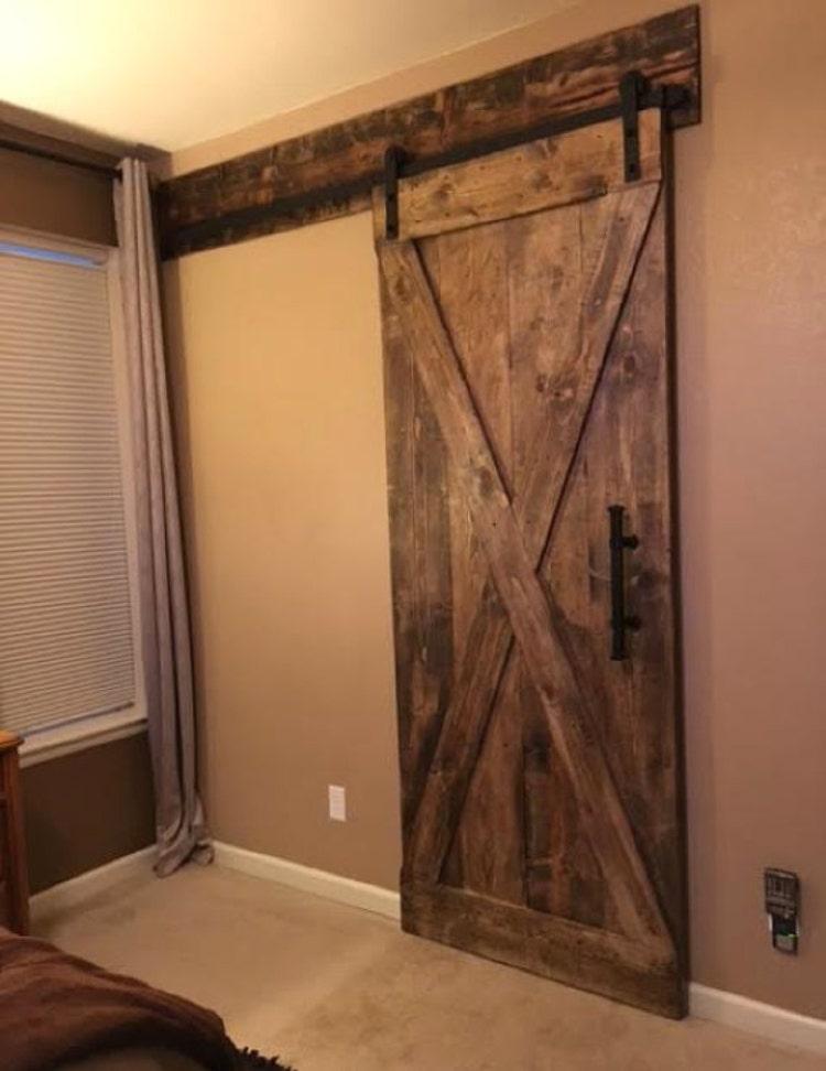 Barn Door Header Customize To Your Size By Slidingbarndoor
