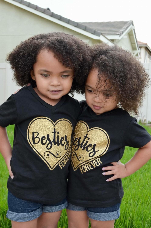 Best Friends Shirt Besties Tshirt Friends Tshirt Girls