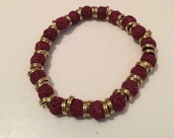 Red Lava Beads