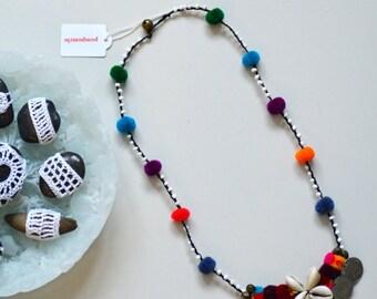 18. Pompom Necklace