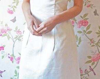 Grace 1960s vintage wedding dress