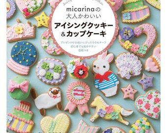 "Japanese How to make icing cookies & cupcakes,""micarina kwaii icing Cookies and Cupcakes"""