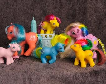 G1 MLP My Little Ponies