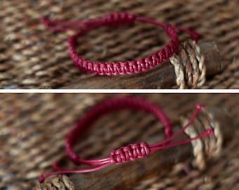 Handmade - Unisex macrame bracelet