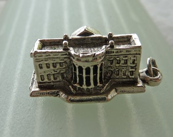 The White House ...  Little Washington D. C. Nation's Capital Souvenir Charm for Your Bracelet