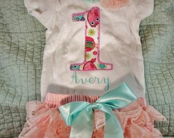 Custom 1st Birthday Outfit