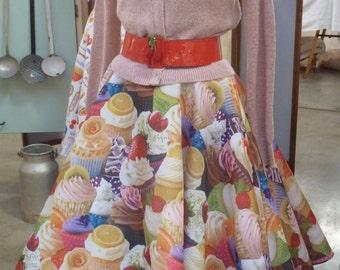 "Skirt pin up ""Cupcake"""