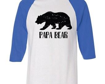Pawpaw bear shirt etsy baseball tee shirts papa bear pawpaw new dad gifts papa shirt publicscrutiny Image collections