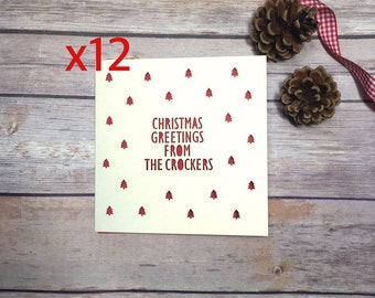 Personalised Christmas Cards, Custom Christmas Cards, Christmas Card Set, Card Pack, Christmas Card Multipack, Lasercut Cards, Holiday Cards