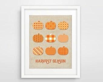 Harvest Season Printable