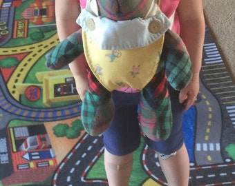DOLL or Stuffed-Animal Front Carrier