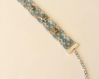 17mm Adjustable Bracelet - Beachy Fun