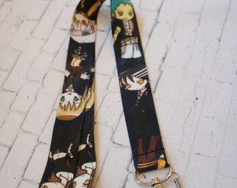 SOUL EATER lanyard, ID holder, phone accessories, camera neck, japanese anime lanyard, Badge holders
