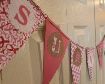 Breast Cancer Survivor Party Banner