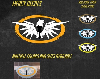 Mercy Vinyl Decal - Multiple sizes and over 60 colors to choose from