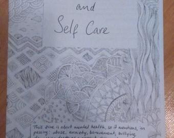 Mental Health and Self-care zine
