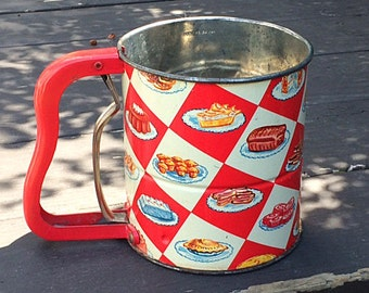 Vintage Androck Handi-Sift Flour Sifter
