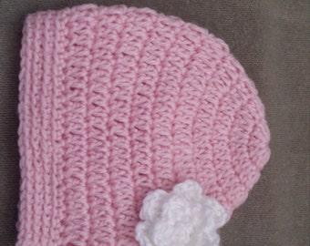 Crochet Baby Hat 0-3months