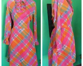 1960s Rainbow Brite Dress